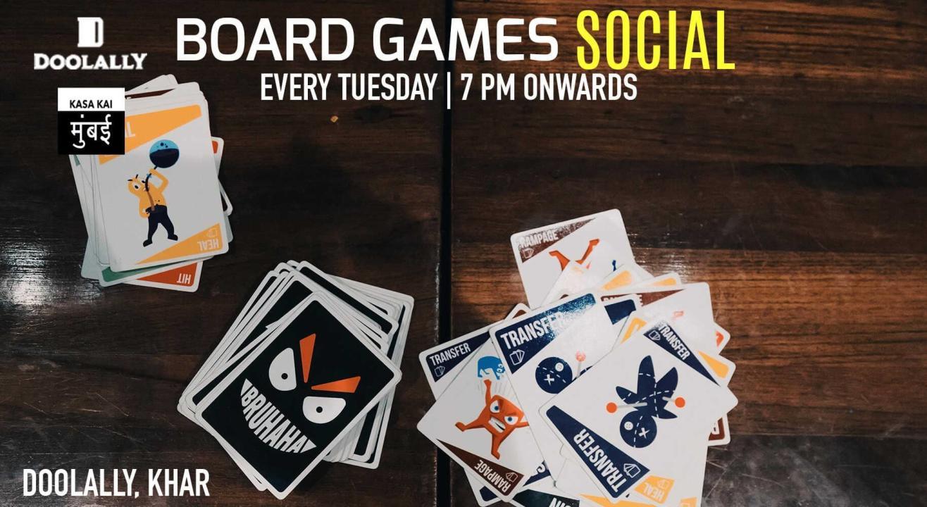 Board Games Social At Doolally, Khar