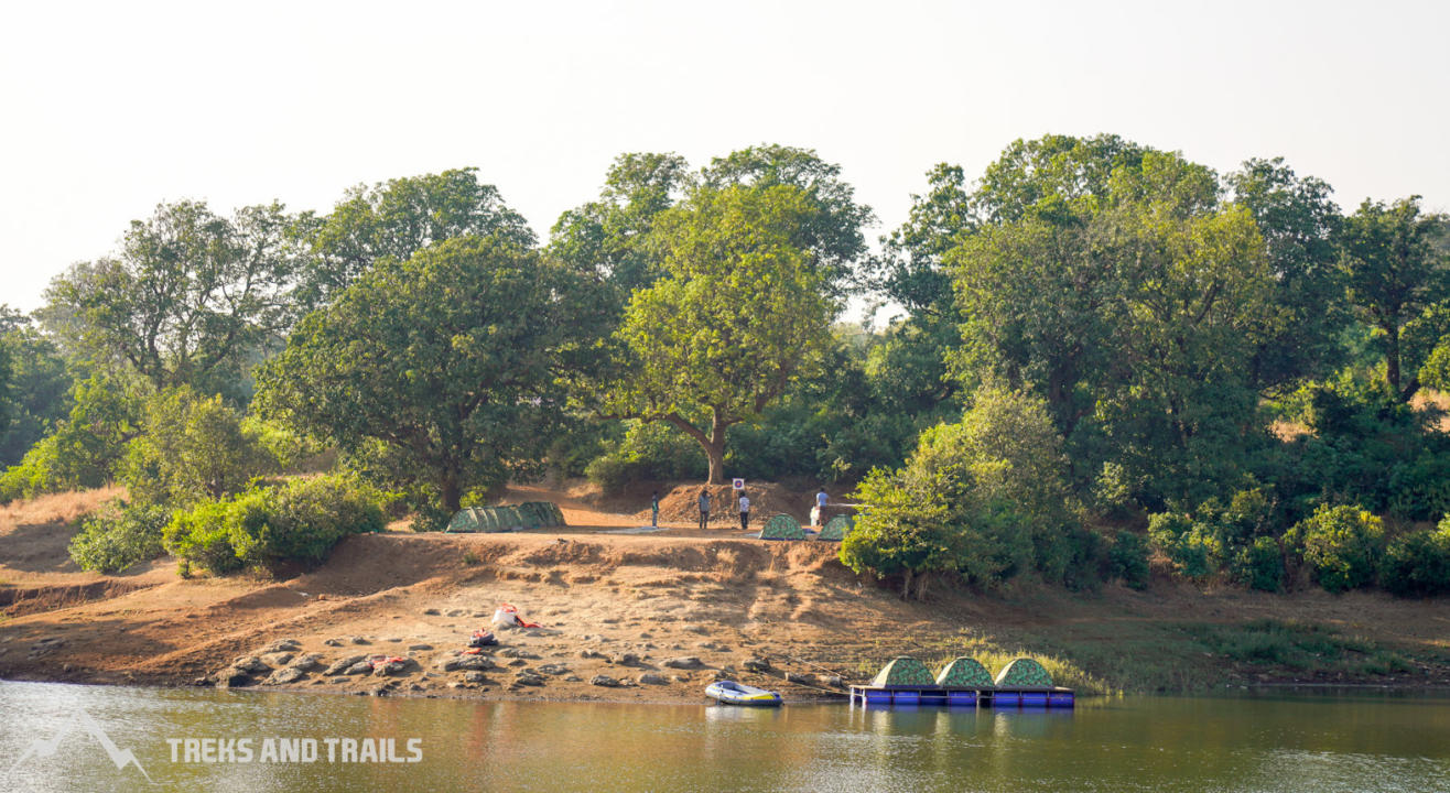 Kurungwadi Camping with Floating Tent Experience | Treks And Trails