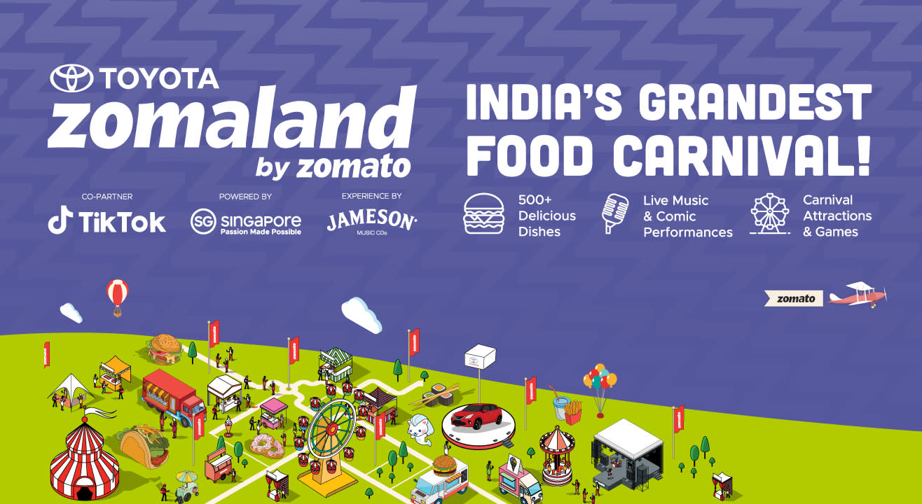 Ready for India's grandest food and entertainment carnival?