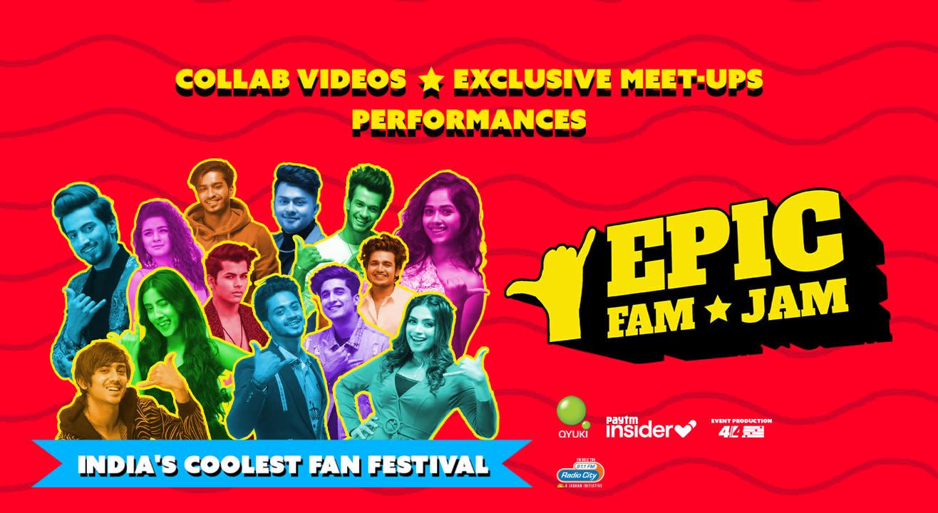 Epic Fam Jam | Mumbai | LIVE CONCERT & MEET-UP