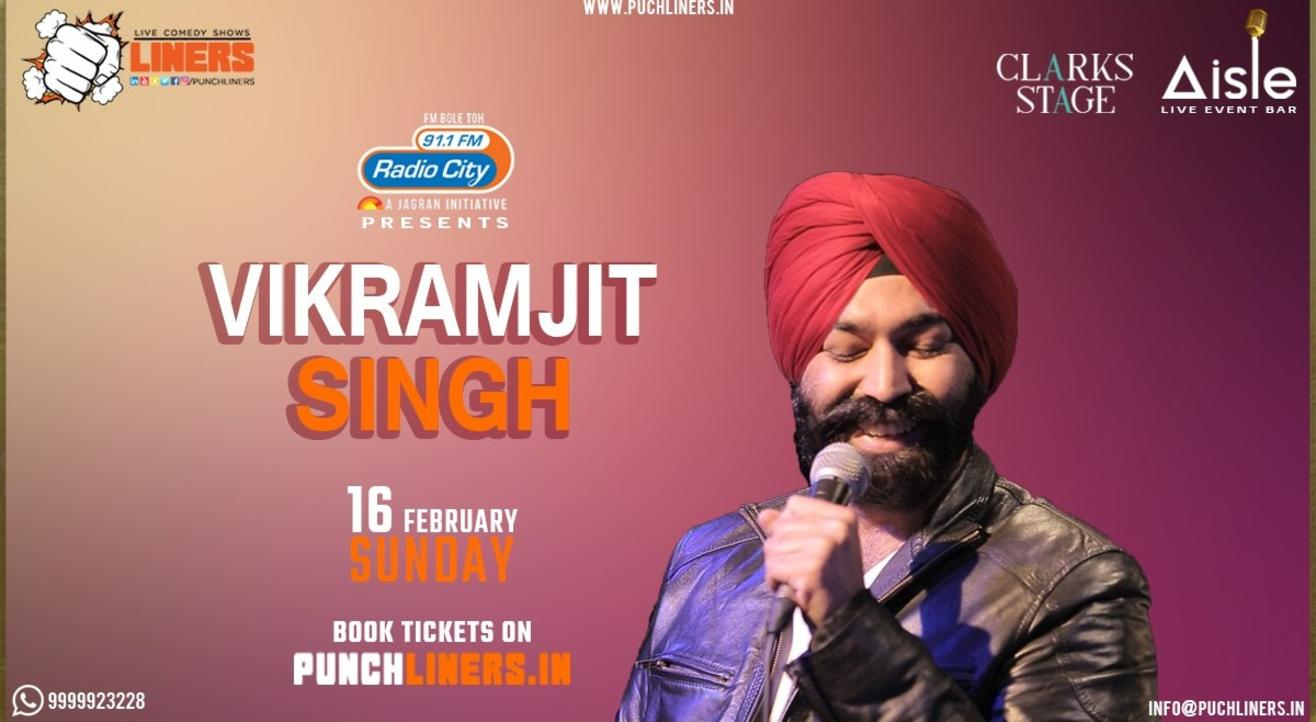 Punchliners Comedy Show ft. Vikramjit Singh