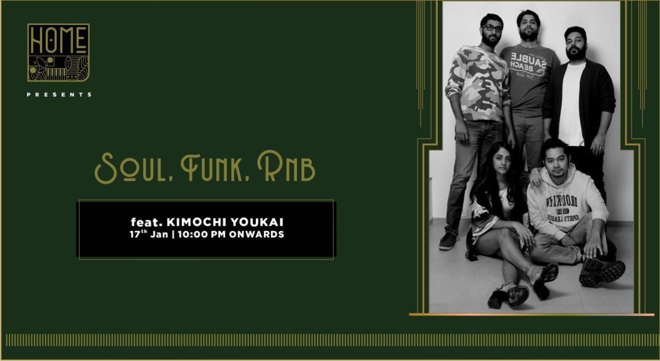 Soul, Funk, R&B ft. Kimochi Youkai