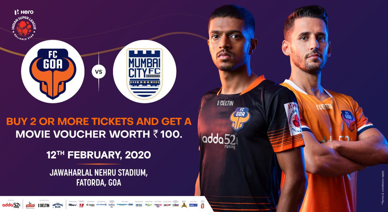 Hero Indian Super League 2019-20: FC Goa vs Mumbai City FC