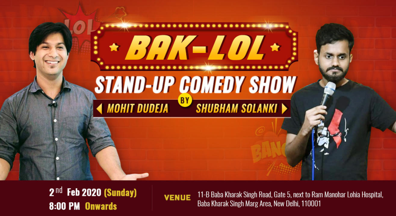 Bak-LOL  A Stand-Up comedy show