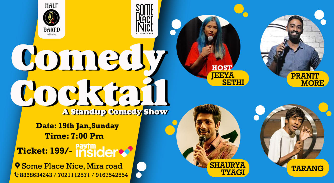 Comedy Cocktail - Standup Comedy Show