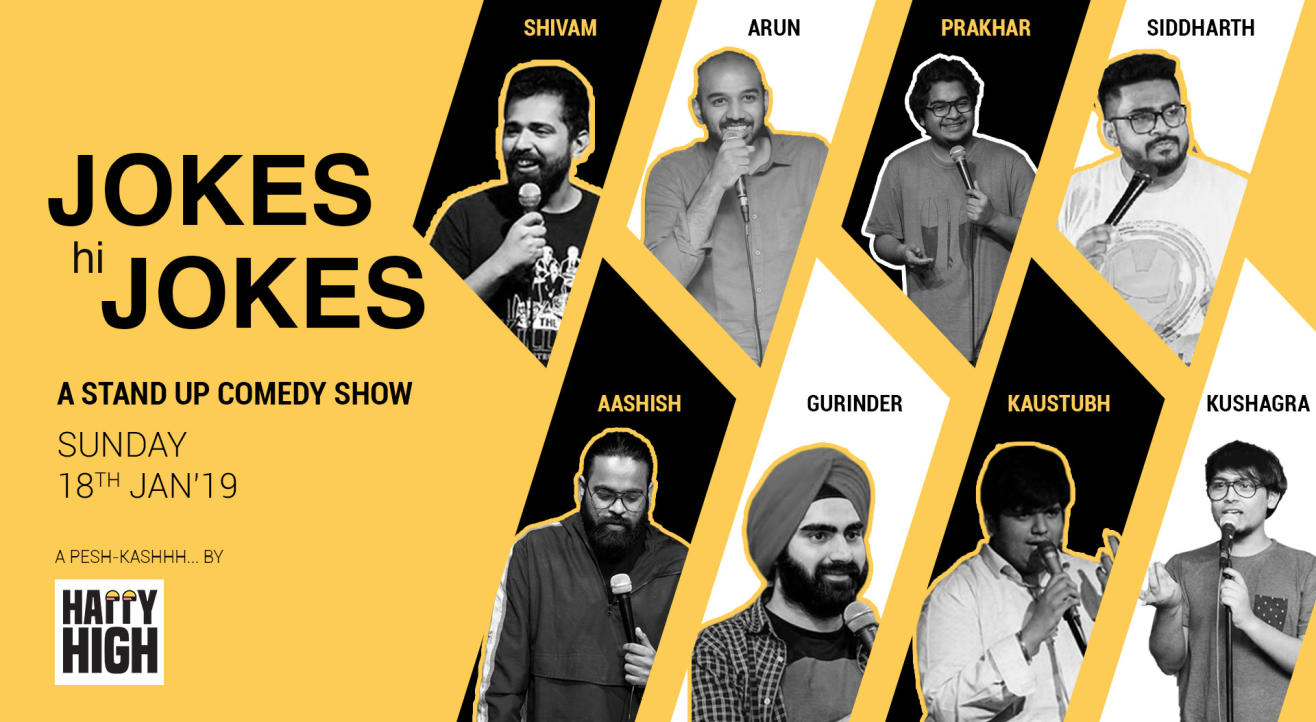 Jokes hi Jokes - A Standup Comedy Show