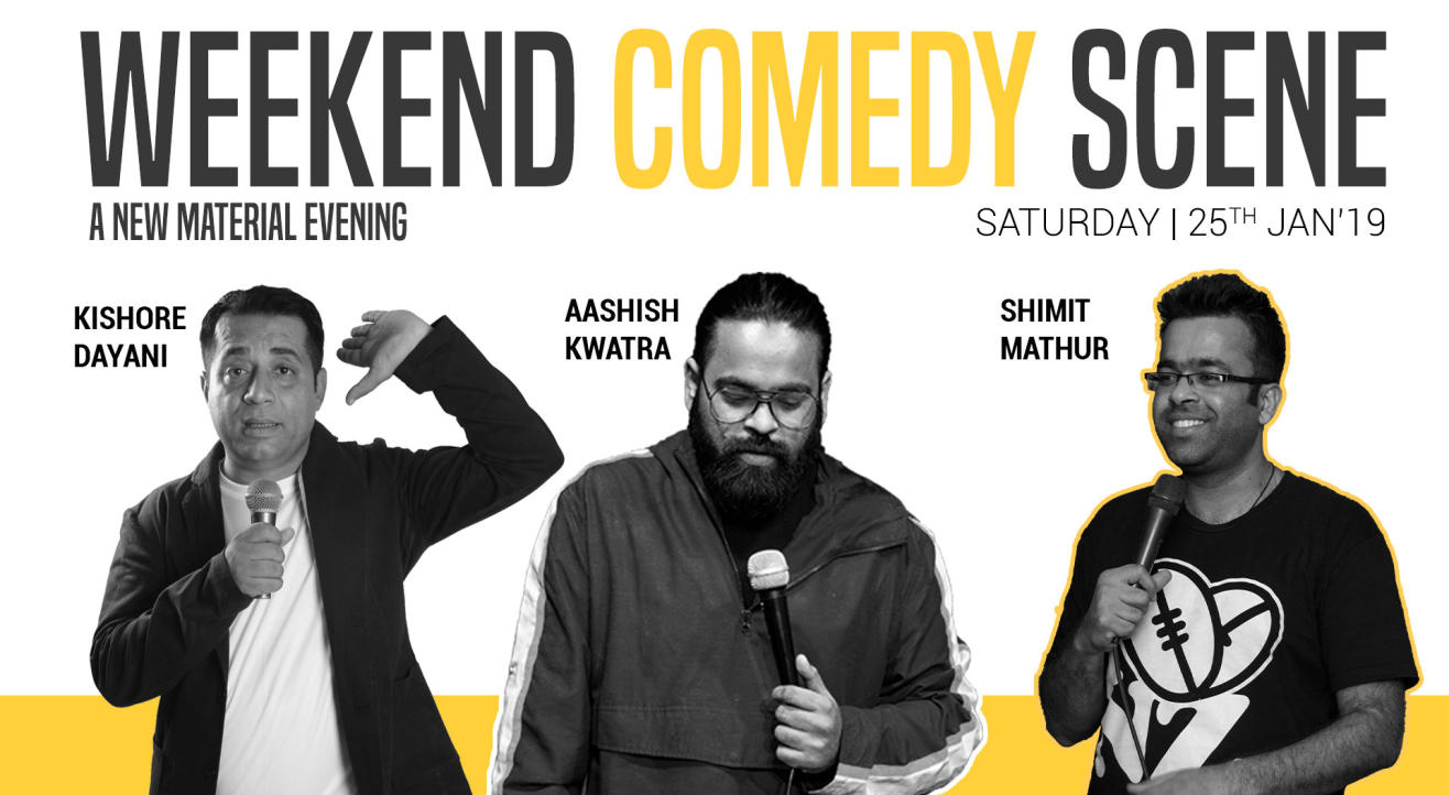 Weekend Comedy Scenes - A stand up comedy show