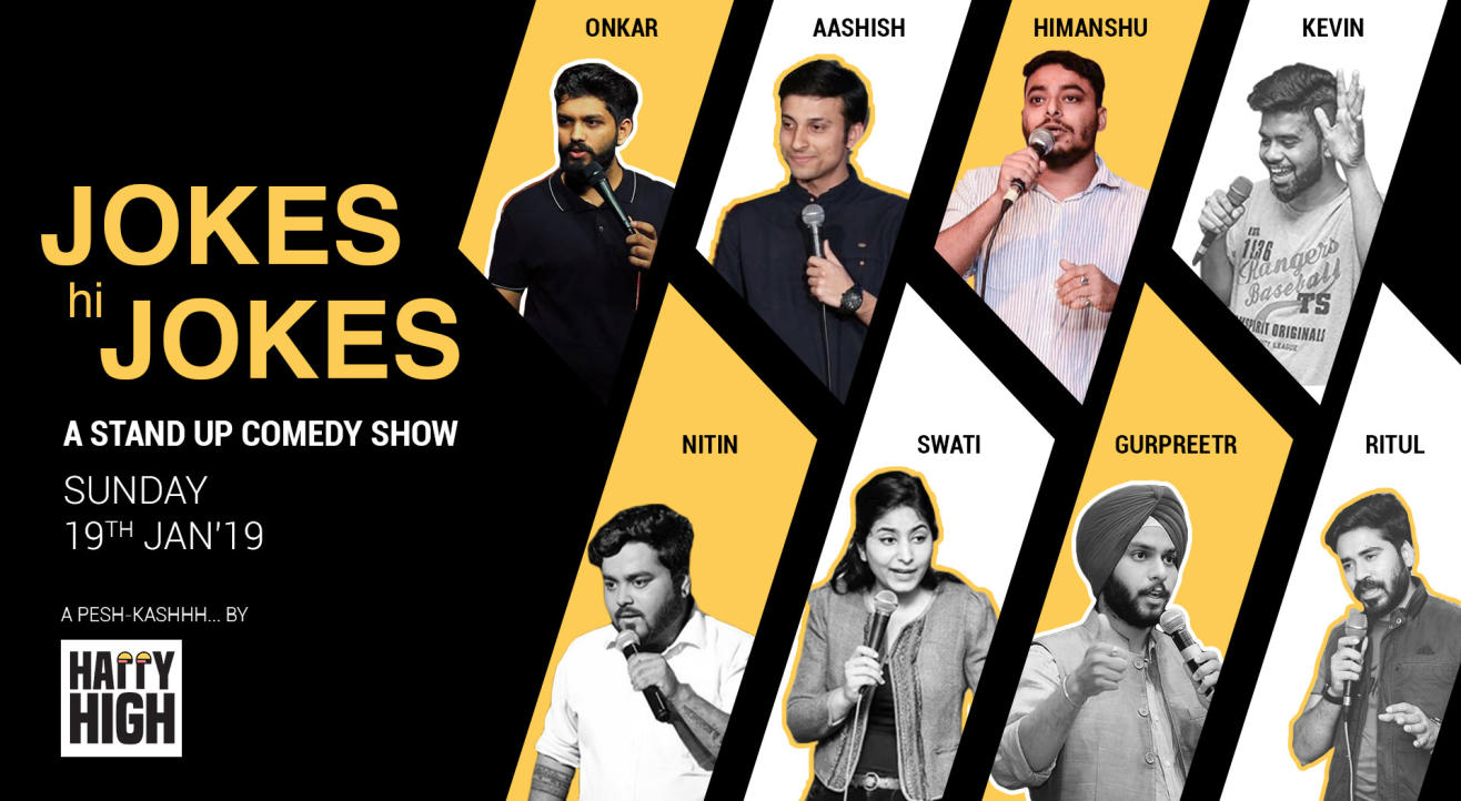 Jokes hi Jokes - A stand up comedy show