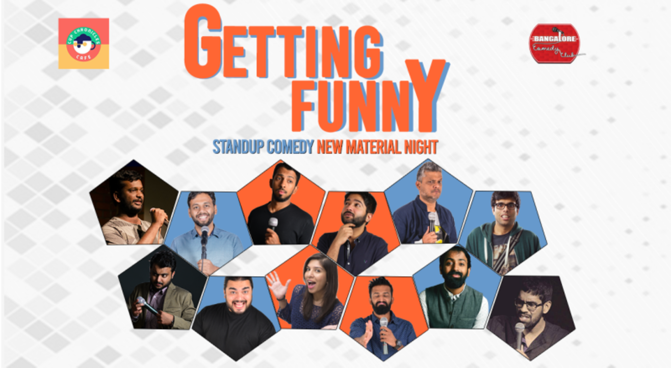 Getting Funny - New Material Night