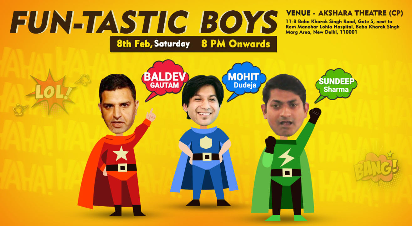 Fun-Tastic Boys - A Special Stand-Up Comedy Shows