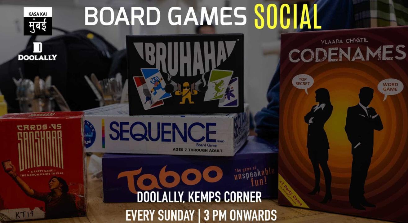 Board Games Social At Doolally, Kemps Corner