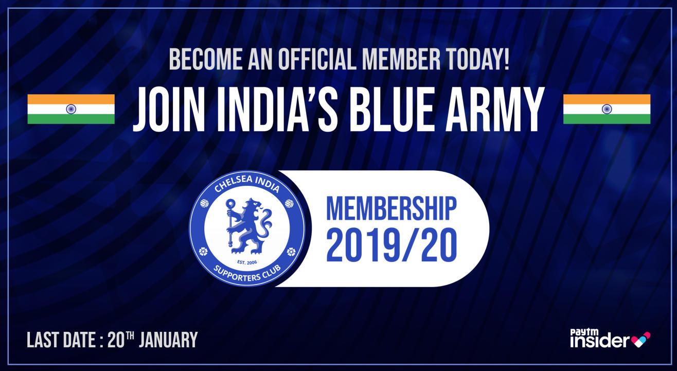 Chelsea India Membership 2019-20