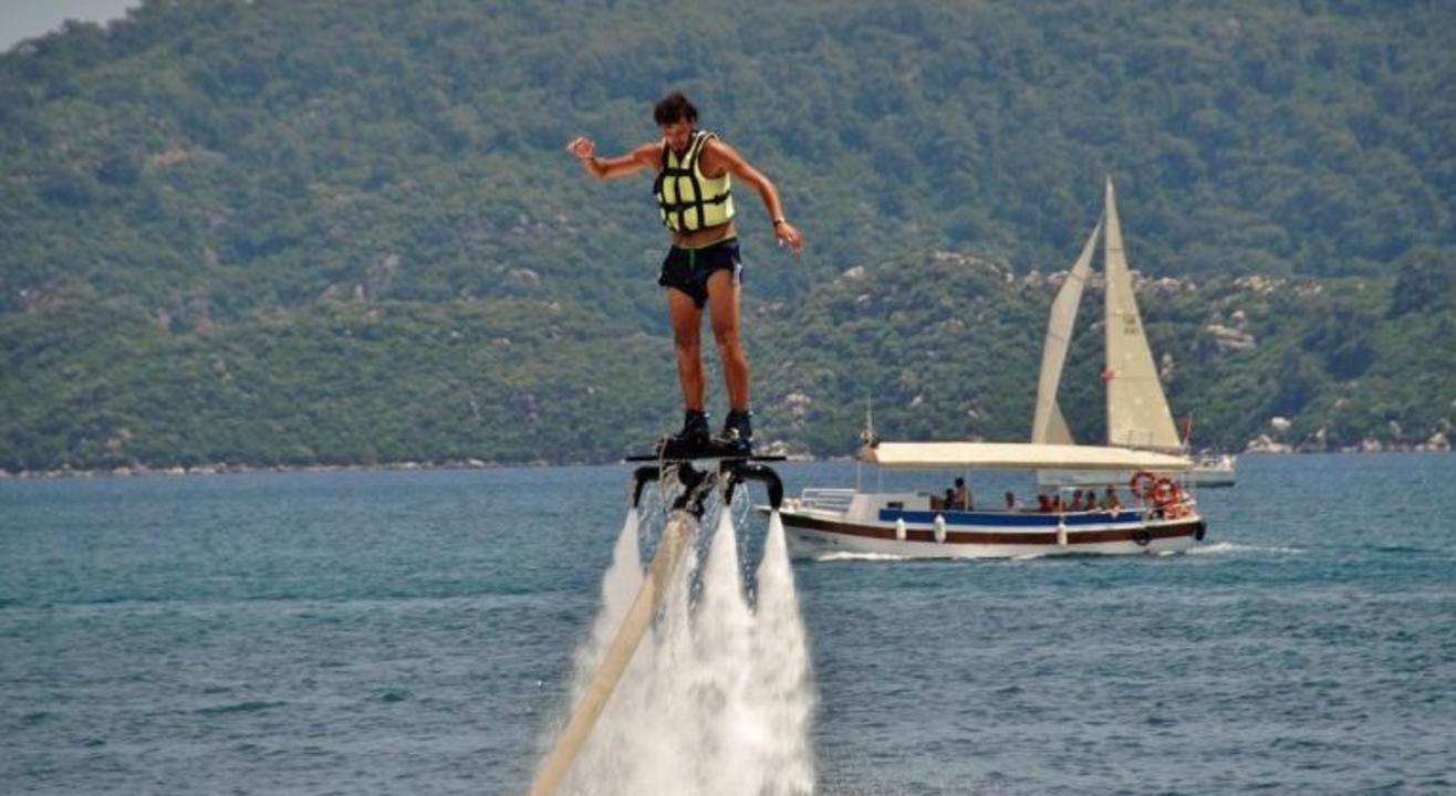 Flyboarding At South Goa