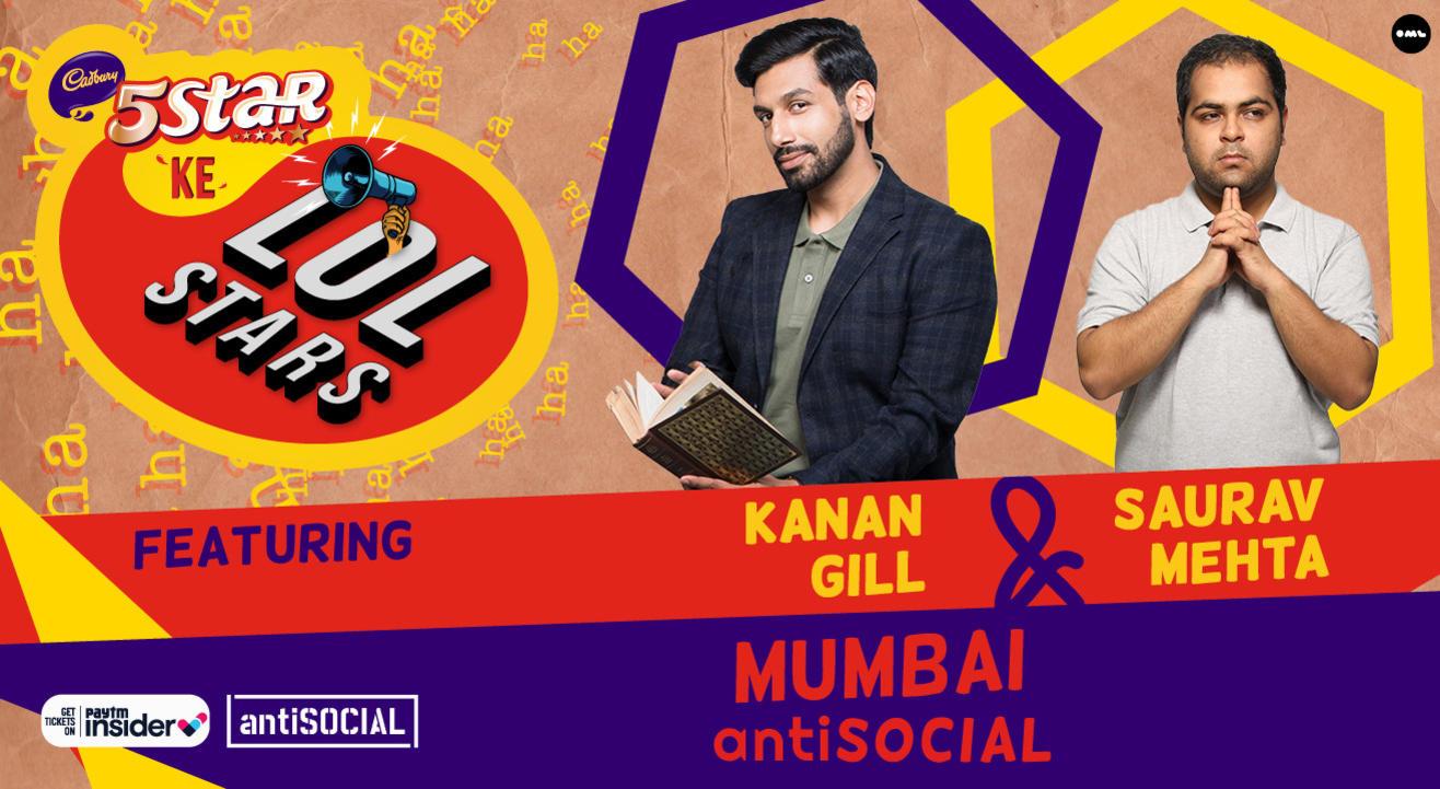 5Star ke LOLStars ft Kanan Gill & Saurav Mehta   Mumbai
