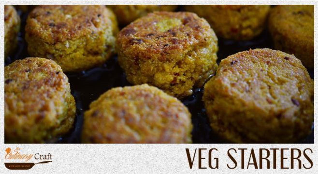 Veg Starters   Culinary Craft