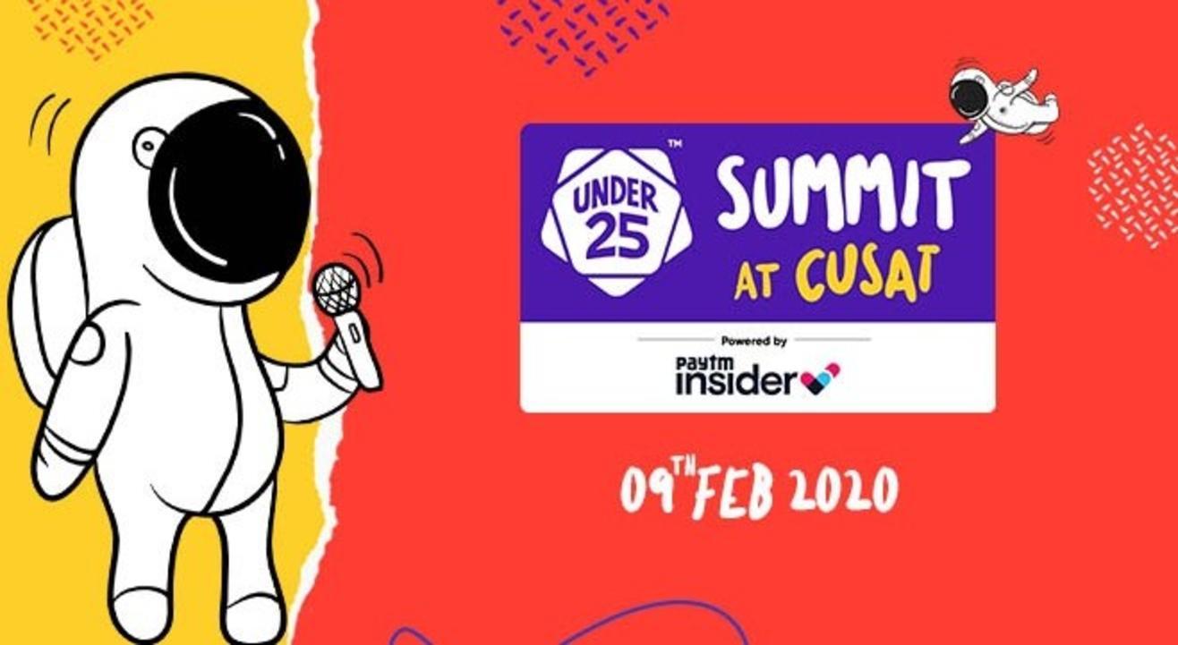 Under 25 Summit at CUSAT   Kochi