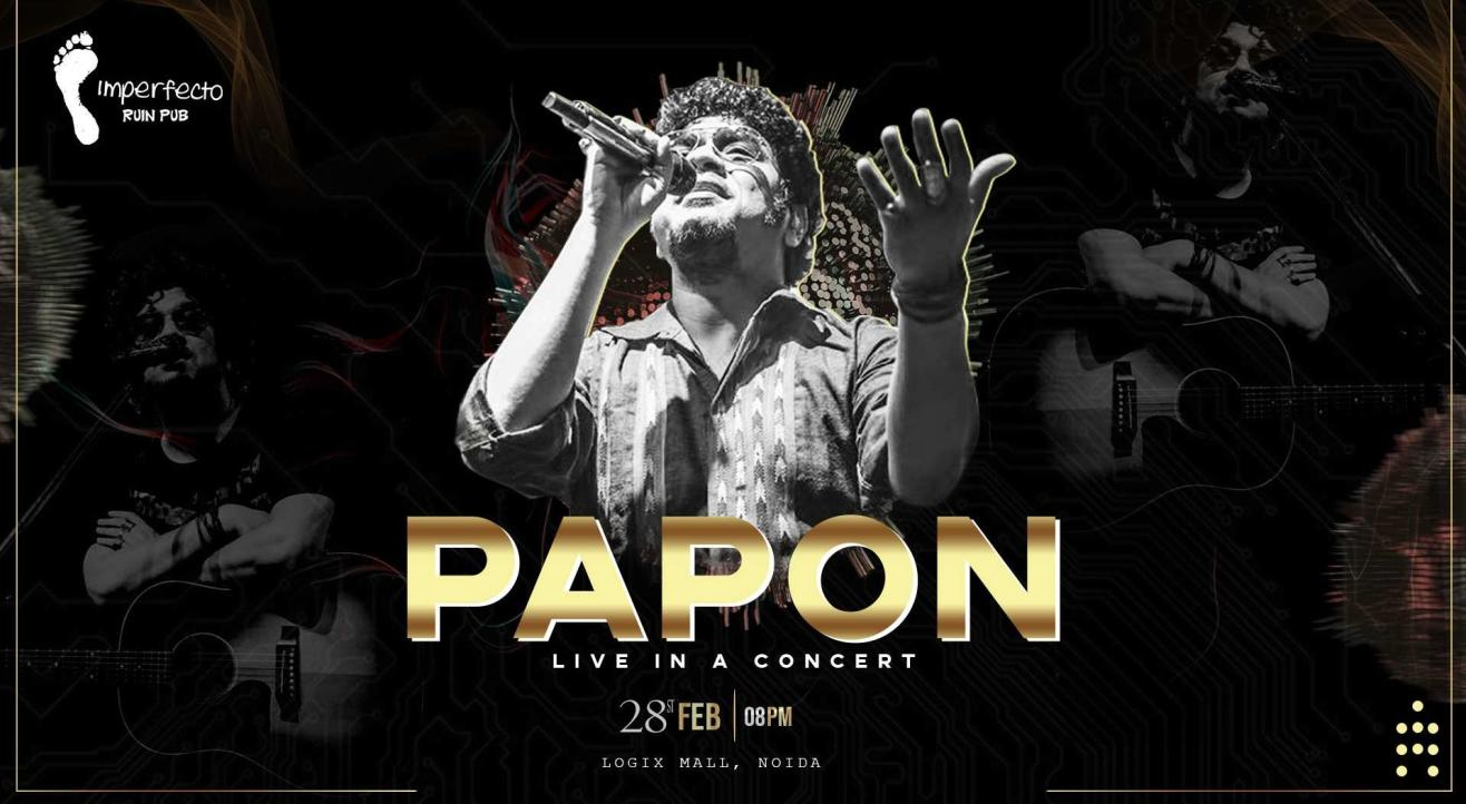 Papon Live In A Concert