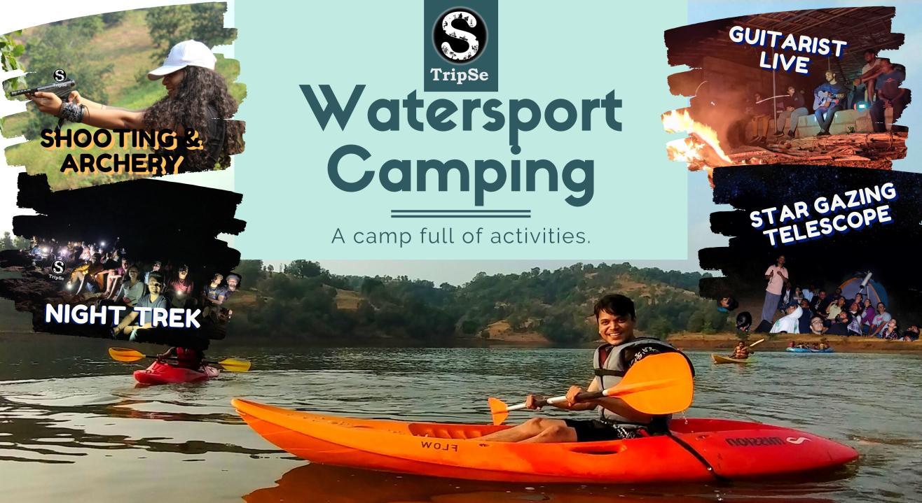 Igatpuri Secret Lakeside Camping and Watersports | TripSe