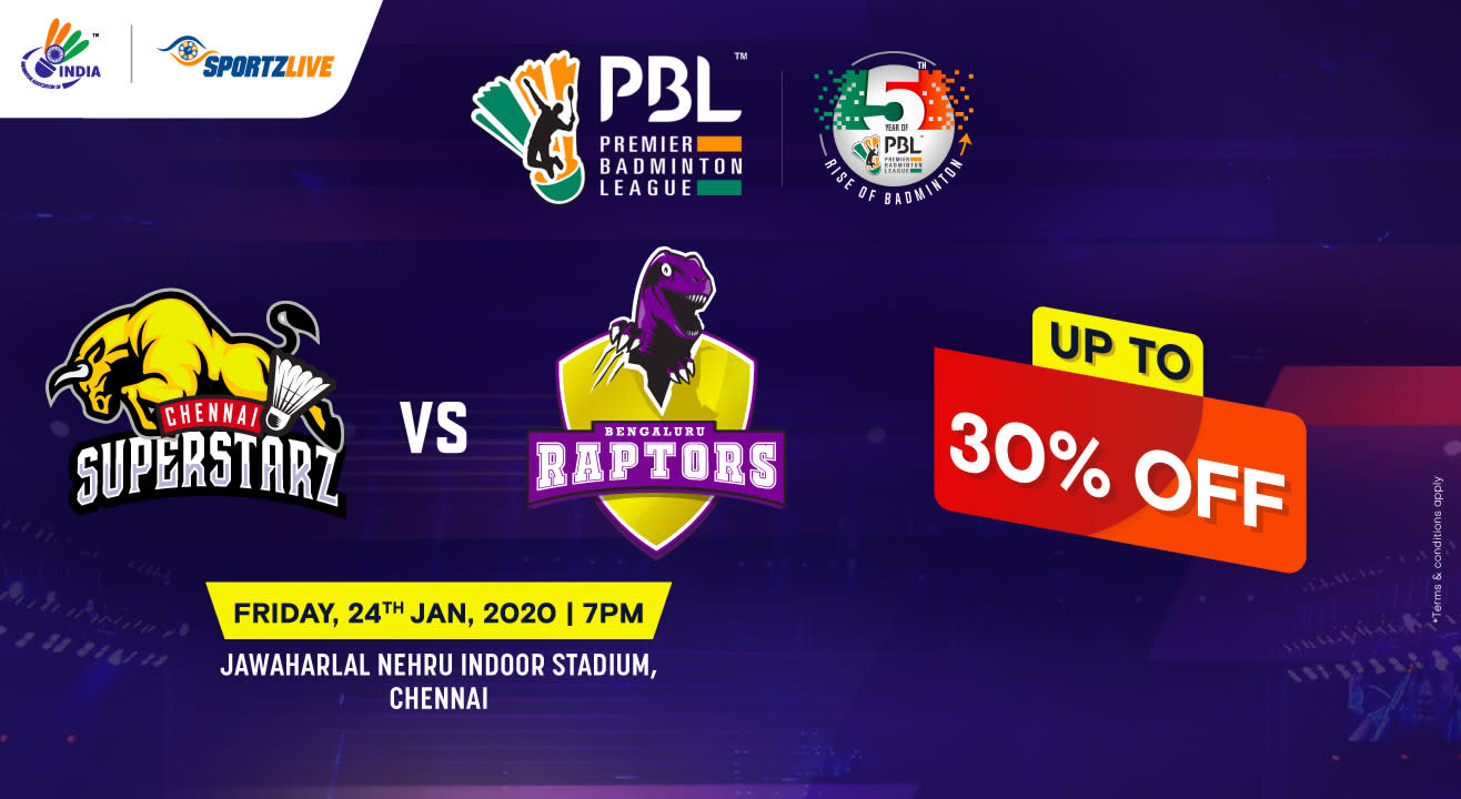 PBL 2020: Chennai Superstarz vs Bengaluru Raptors