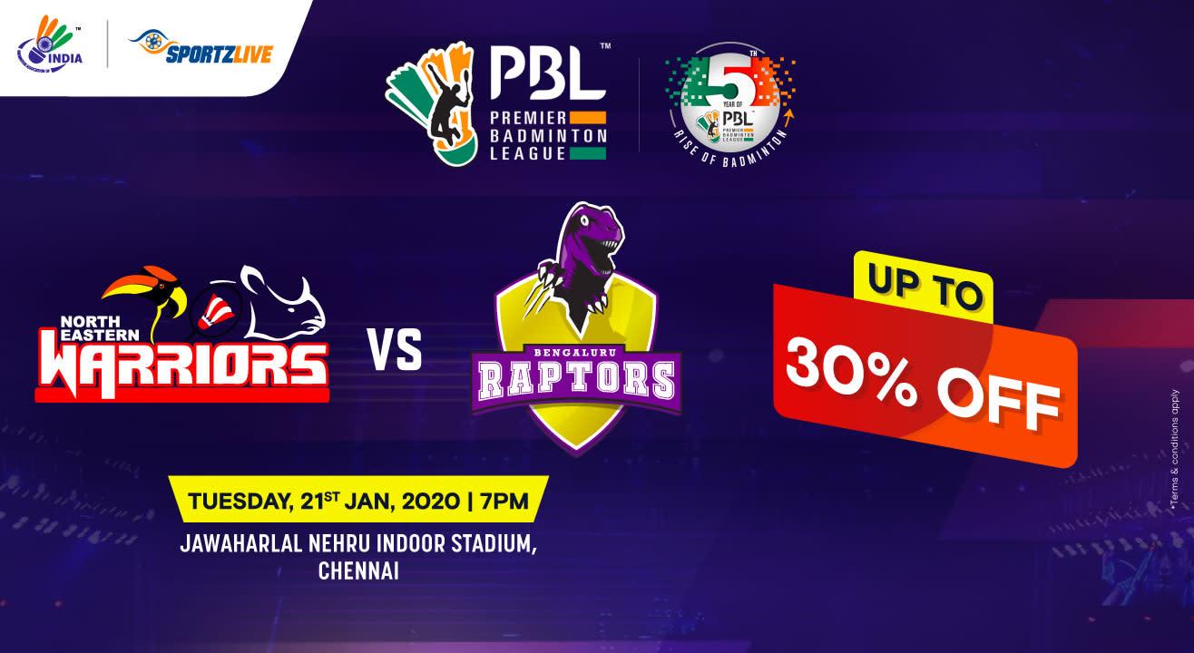 PBL 2020: North Eastern Warriors vs Bengaluru Raptors