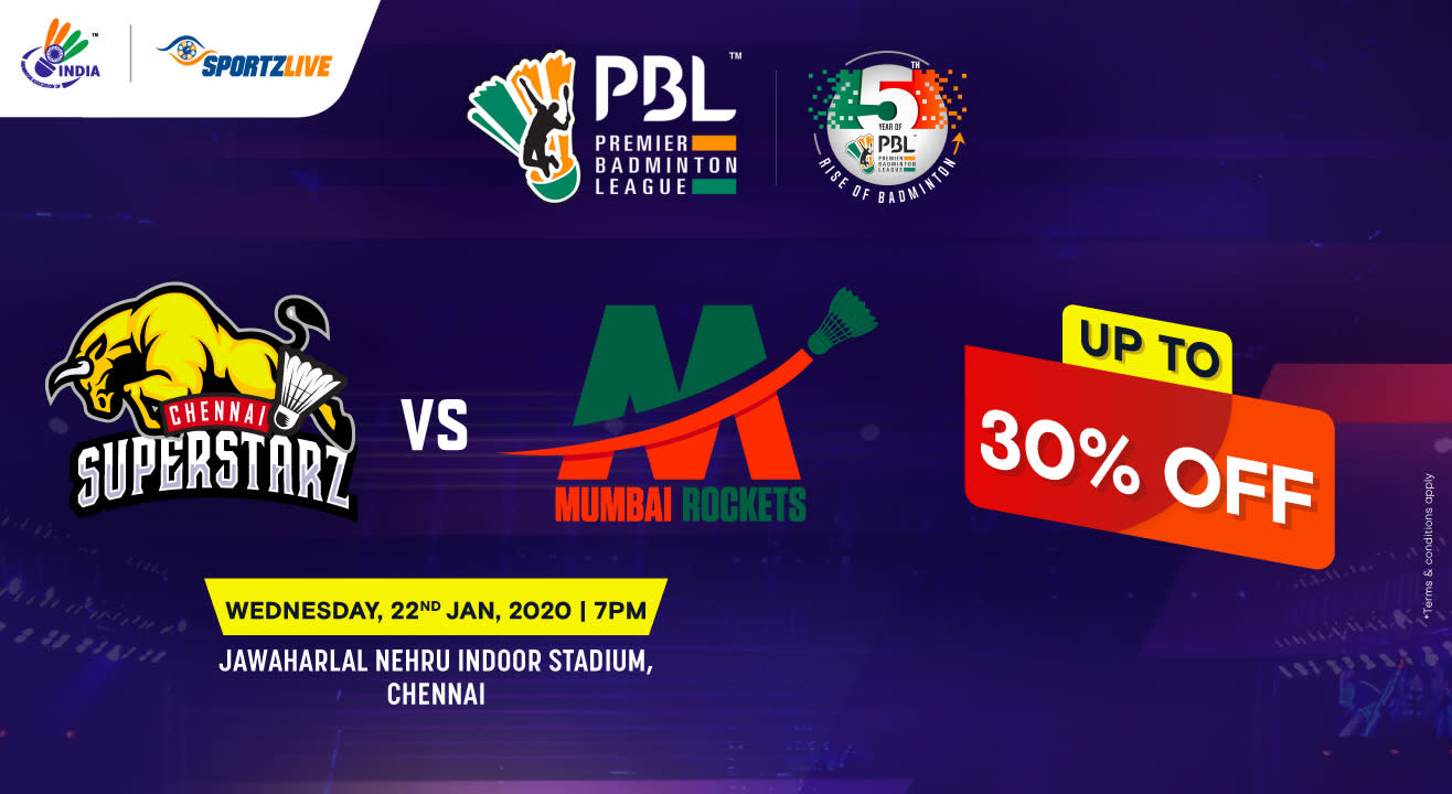 PBL 2020: Chennai Superstarz vs Mumbai Rockets