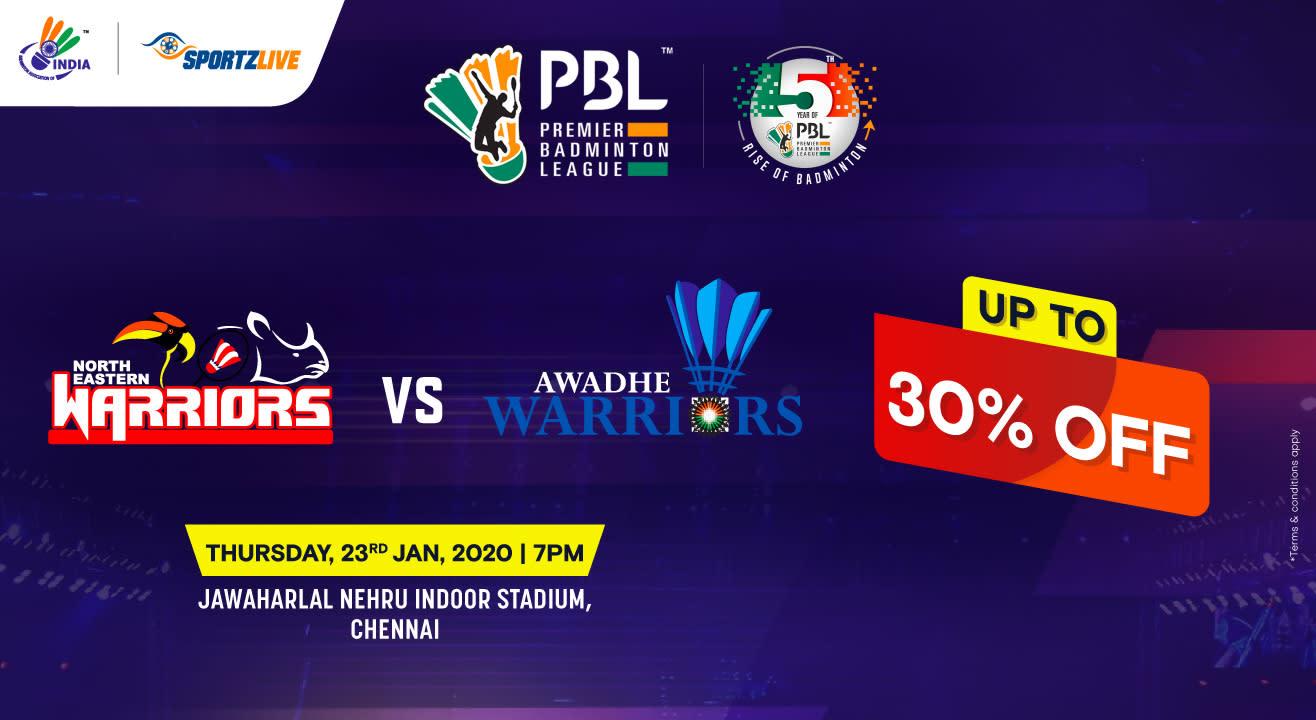 PBL 2020: North Eastern Warriors vs Awadhe Warriors
