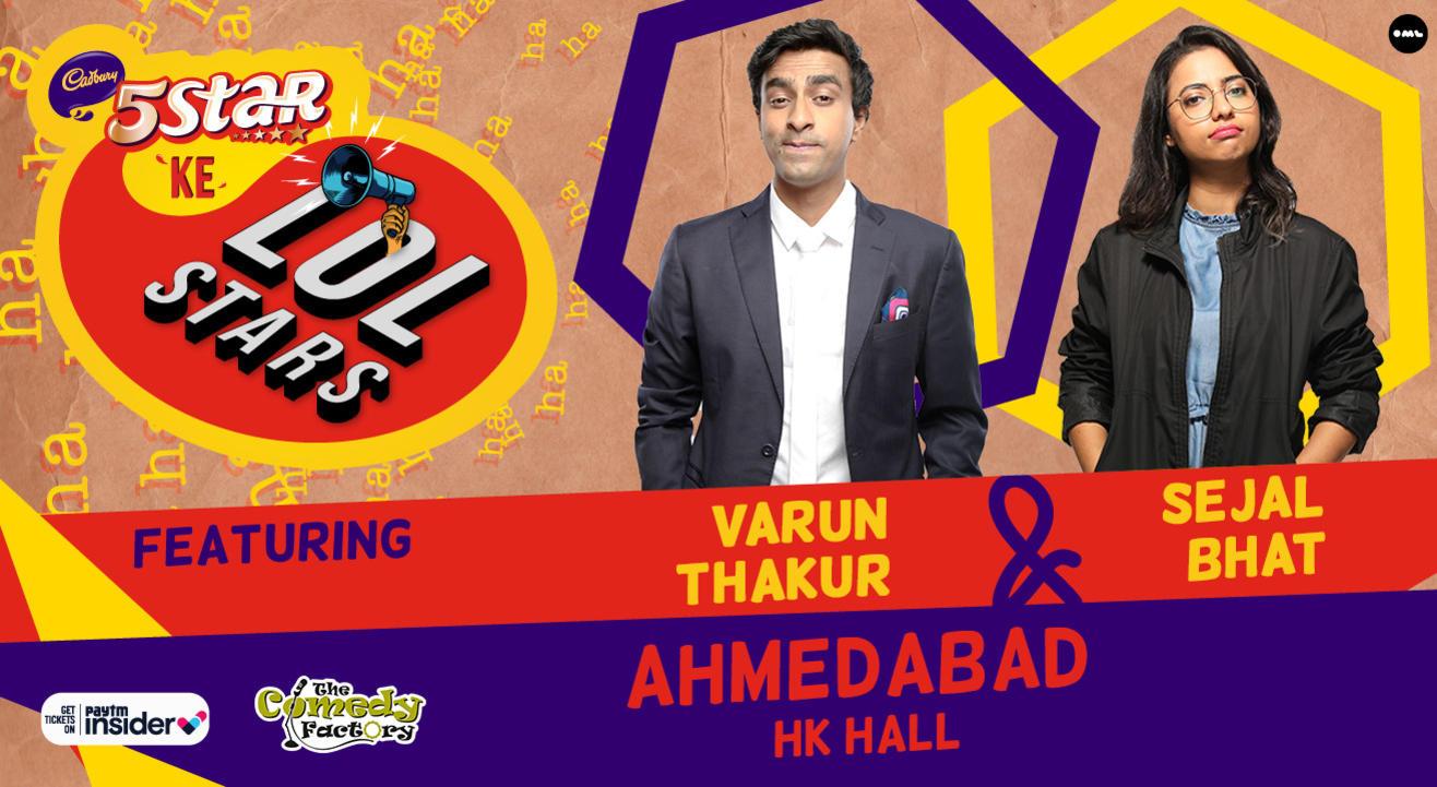 5Star ke LOLStars ft Varun Thakur & Sejal Bhat | Ahmedabad
