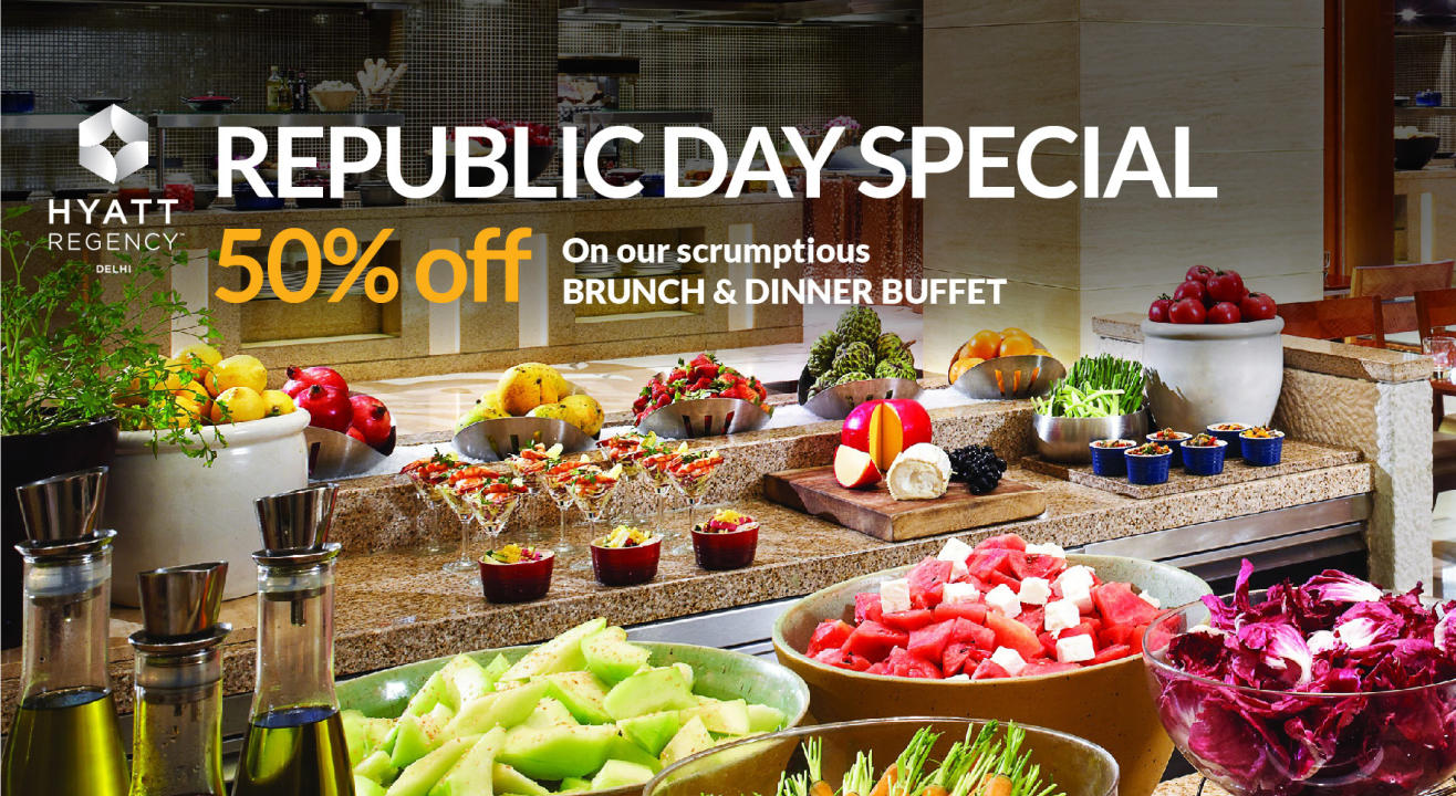 Republic Day Special- 50% off on Brunch