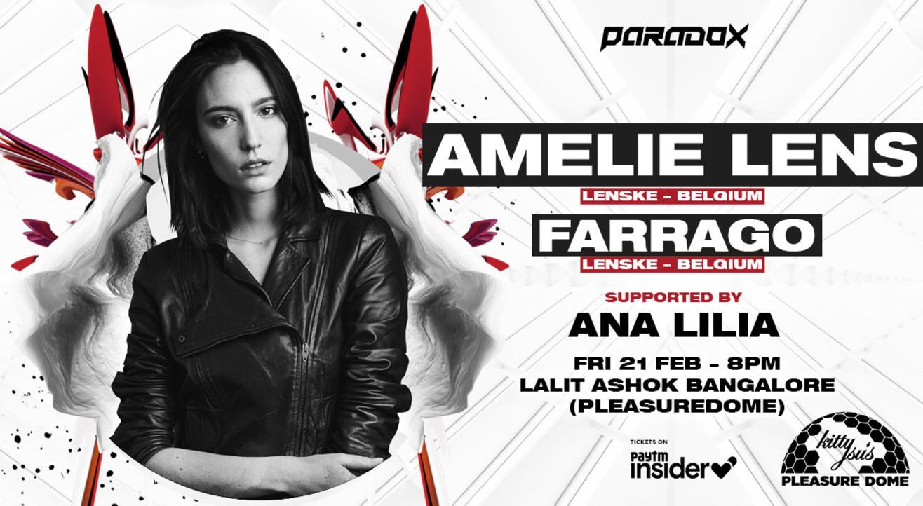 Paradox Presents Amelie Lens + Farrago | Bangalore