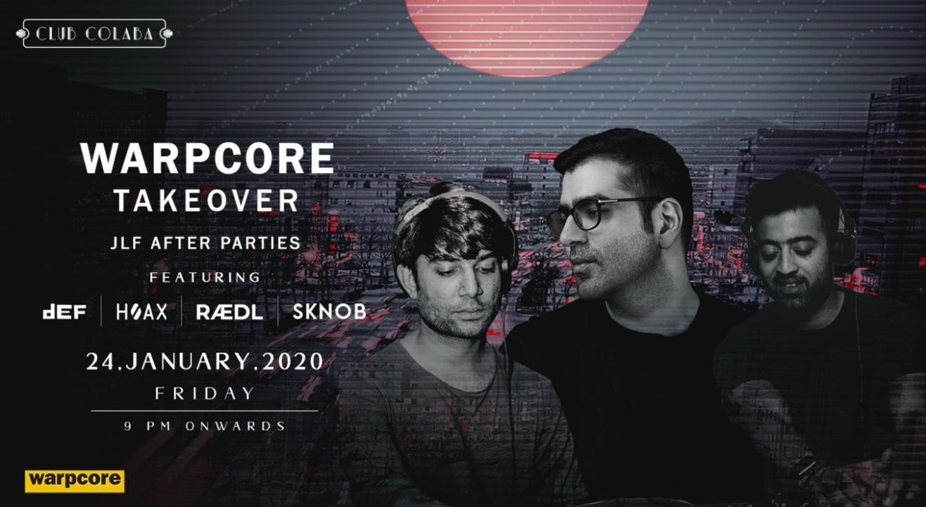 Warpcore JLF 2020 takeover ft. SKNOB, HOAX & RAEDL