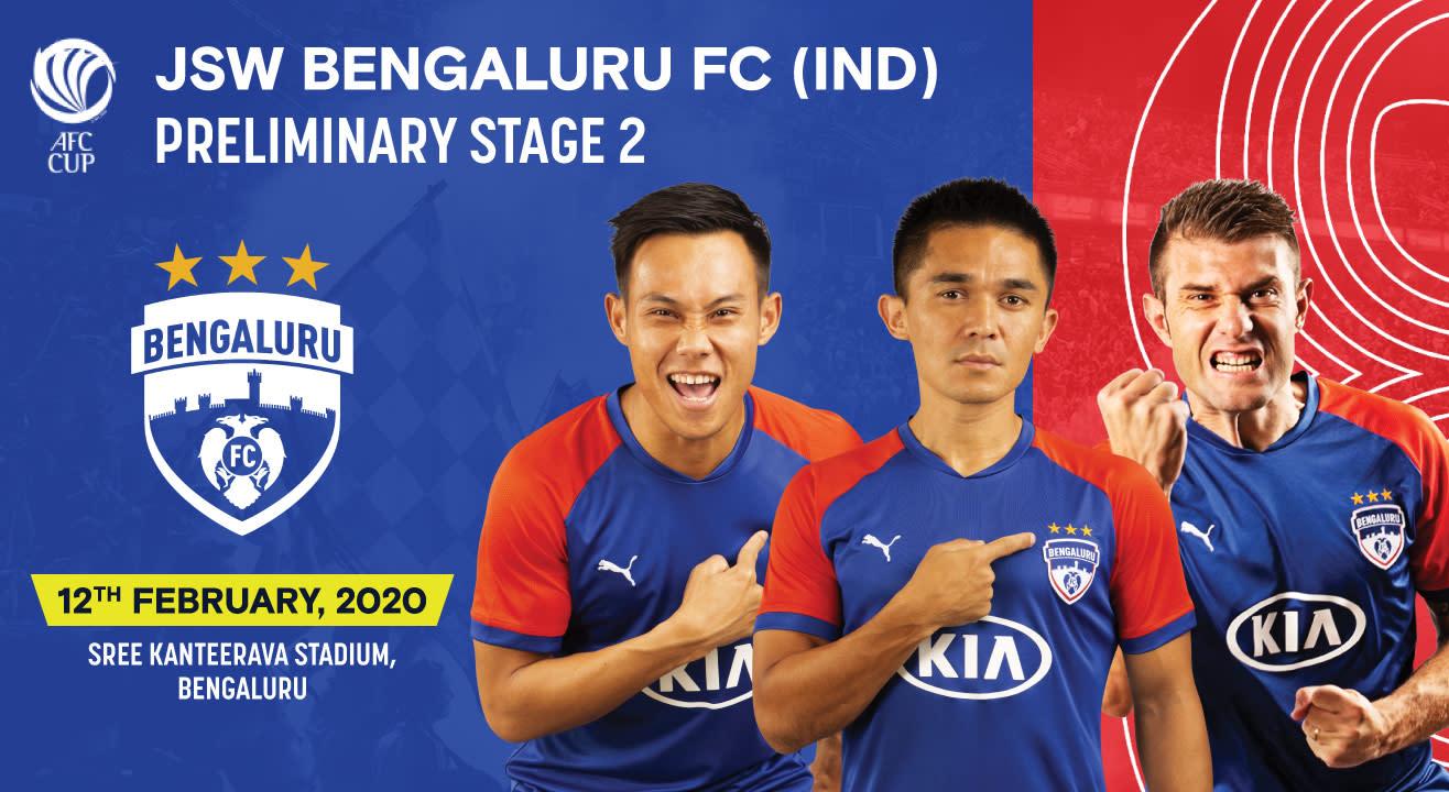 JSW Bengaluru FC (IND) vs  Paro FC (BHU)
