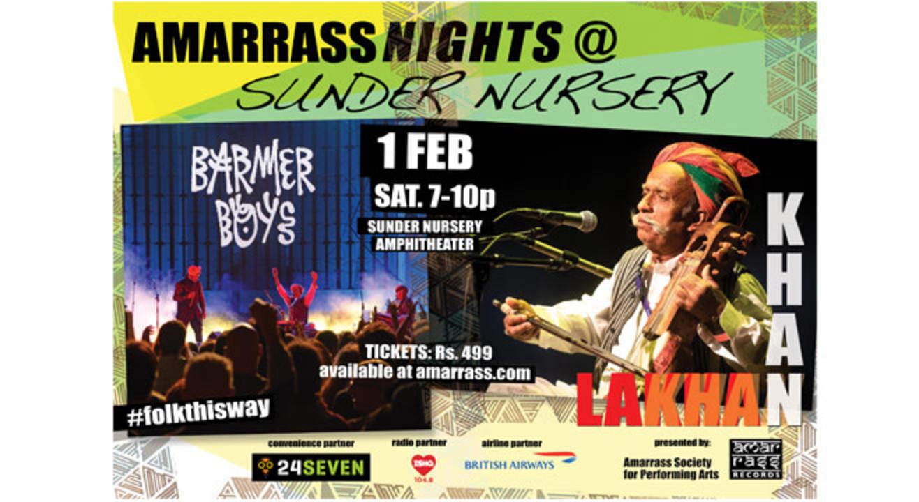 Amarrass Nights @ Sunder Nursery