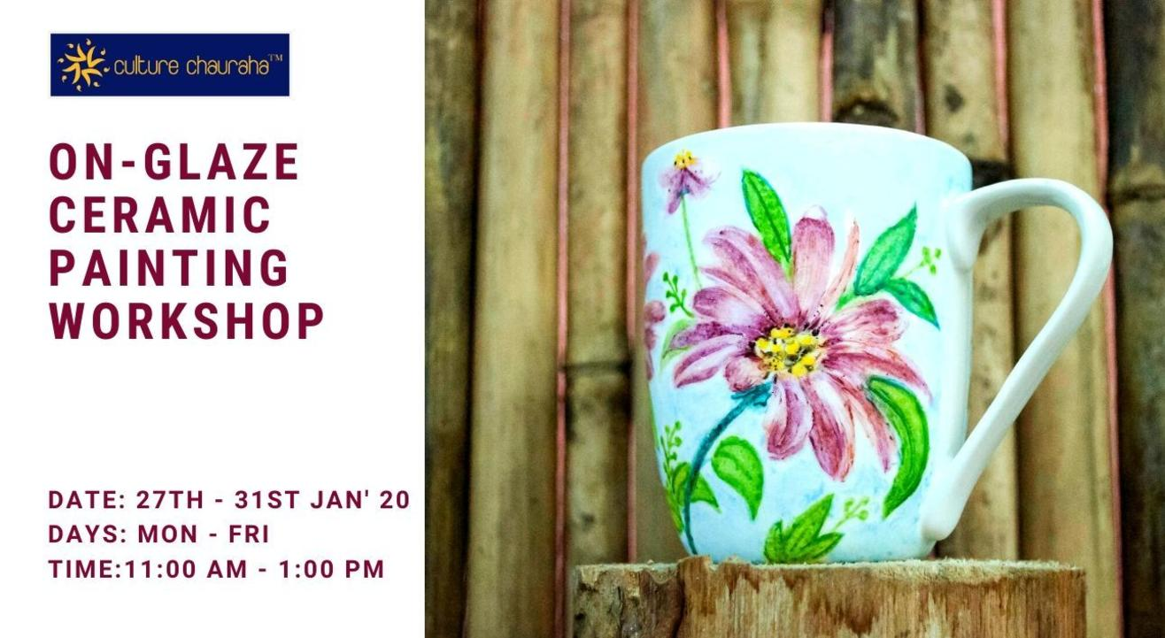 On-Glaze Ceramic Painting Workshop