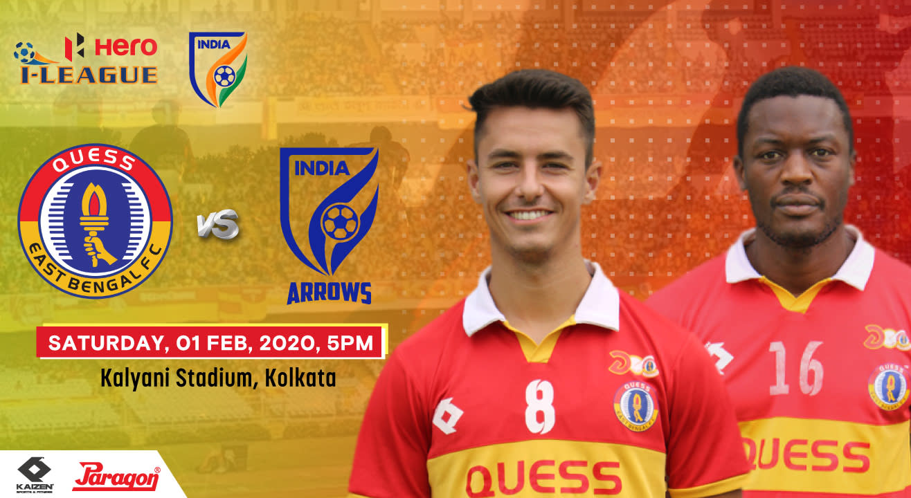 Hero I League 2019-20 - Quess East Bengal FC vs Indian Arrows