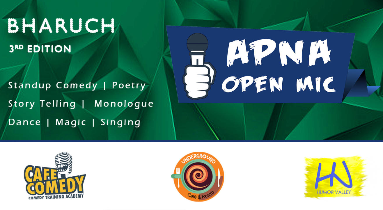 Apna Open Mic (Bharuch - 5th Edition)