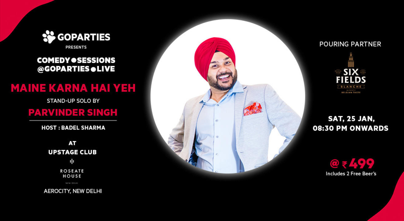 Stand Up Comedy Show By Parvinder Singh