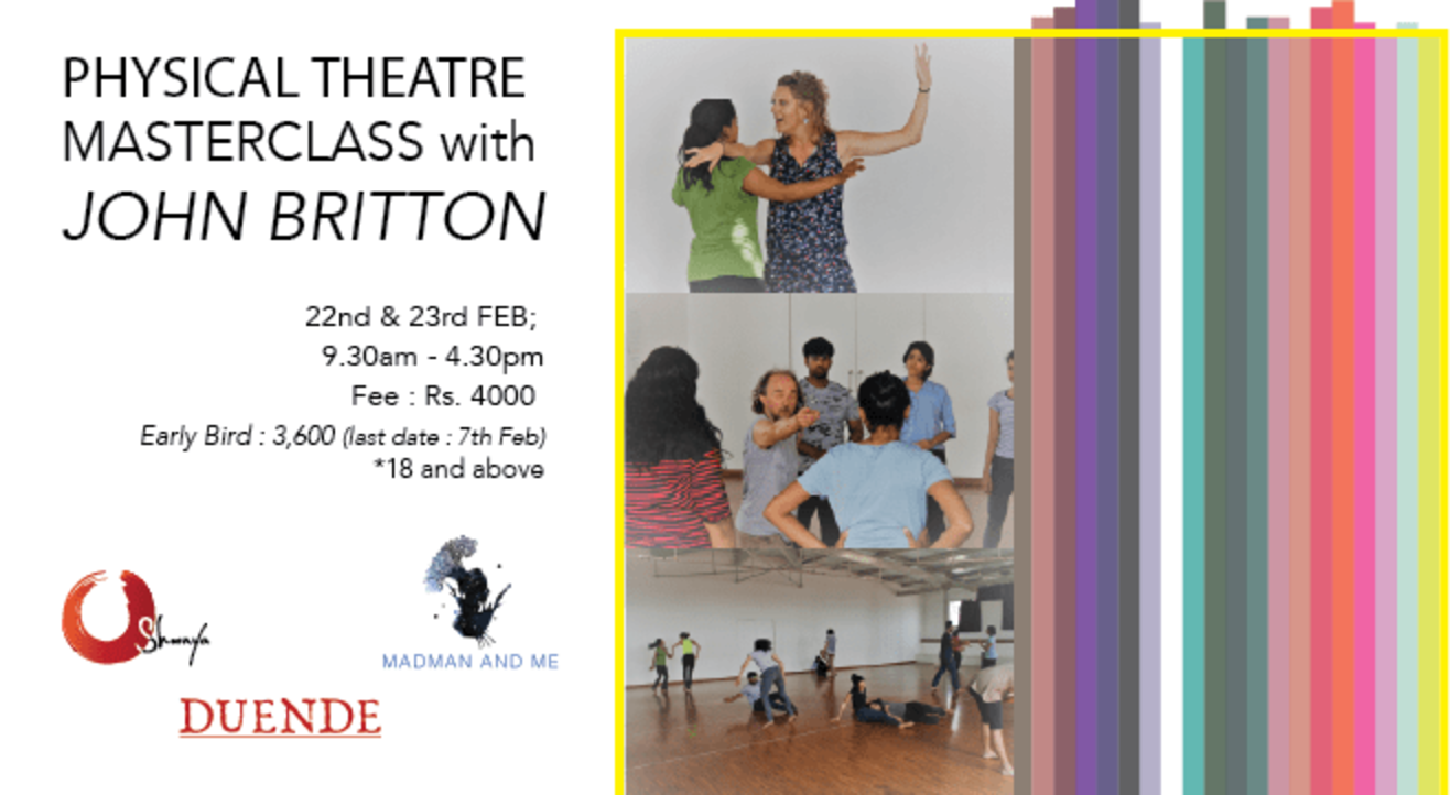 Physical Theatre Masterclass with John Britton