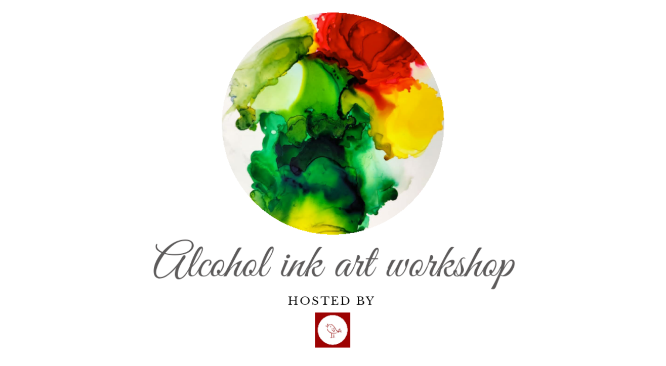 Alcohol ink art workshop by decor chidiya