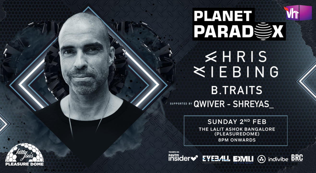 Planet Paradox Presents Chris Liebing + B.Traits