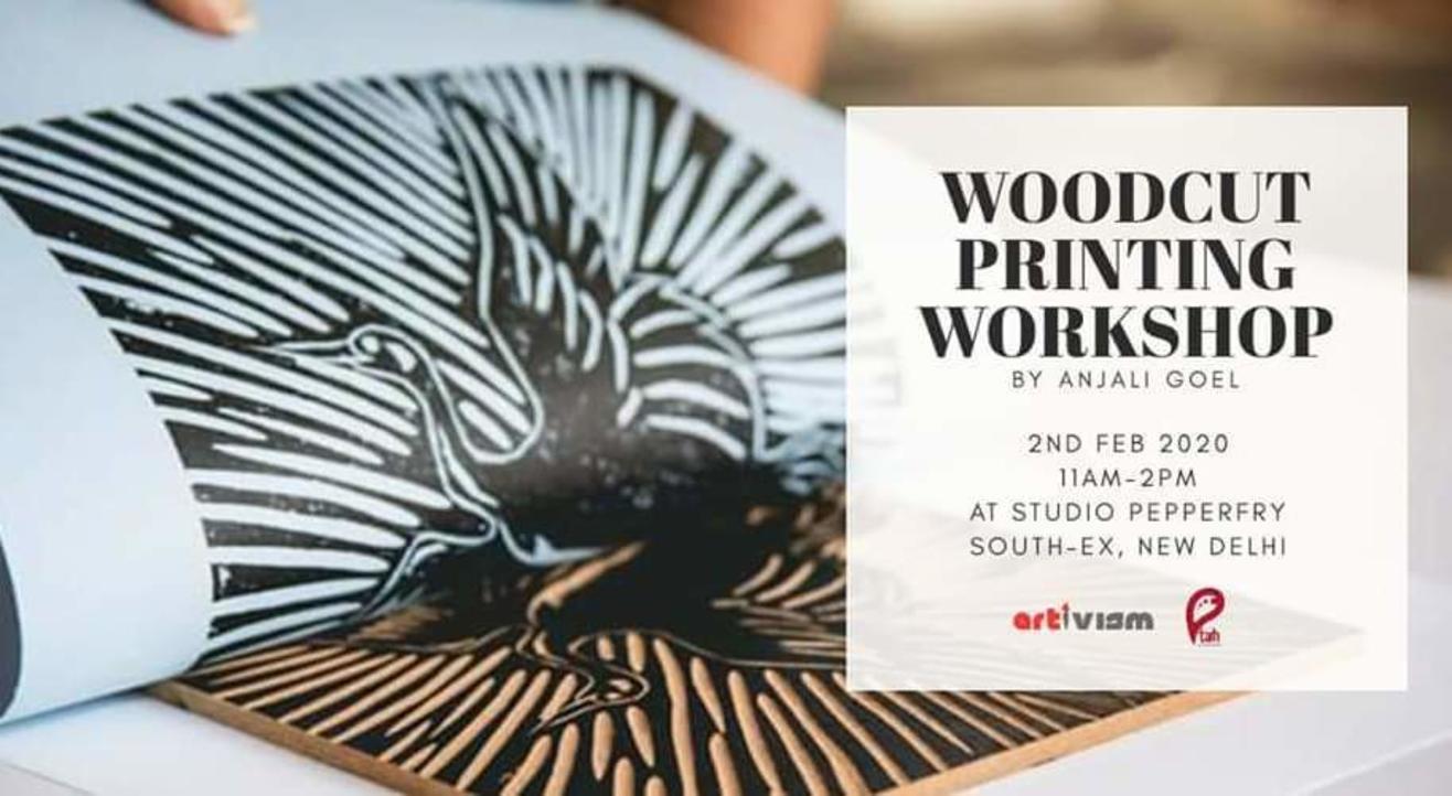 Woodcut Printing Workshop