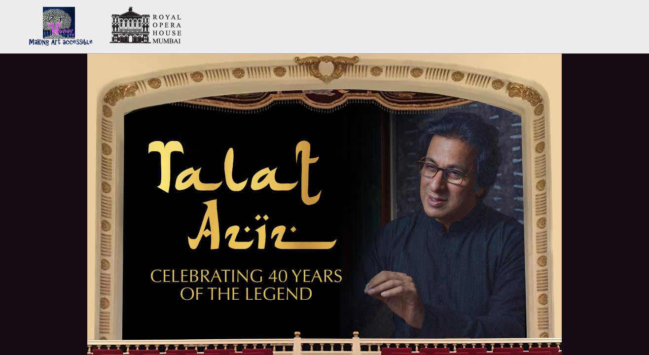 TALAT AZIZ: Celebrating 40 Years of the Legend
