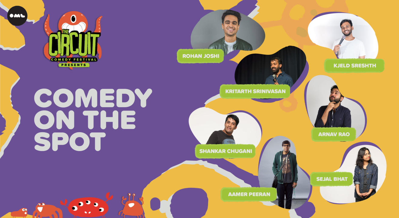Comedy On the Spot ft. Rohan Joshi, Shankar Chugani, Sejal Bhat and more! | The Circuit Comedy Festival, Bengaluru