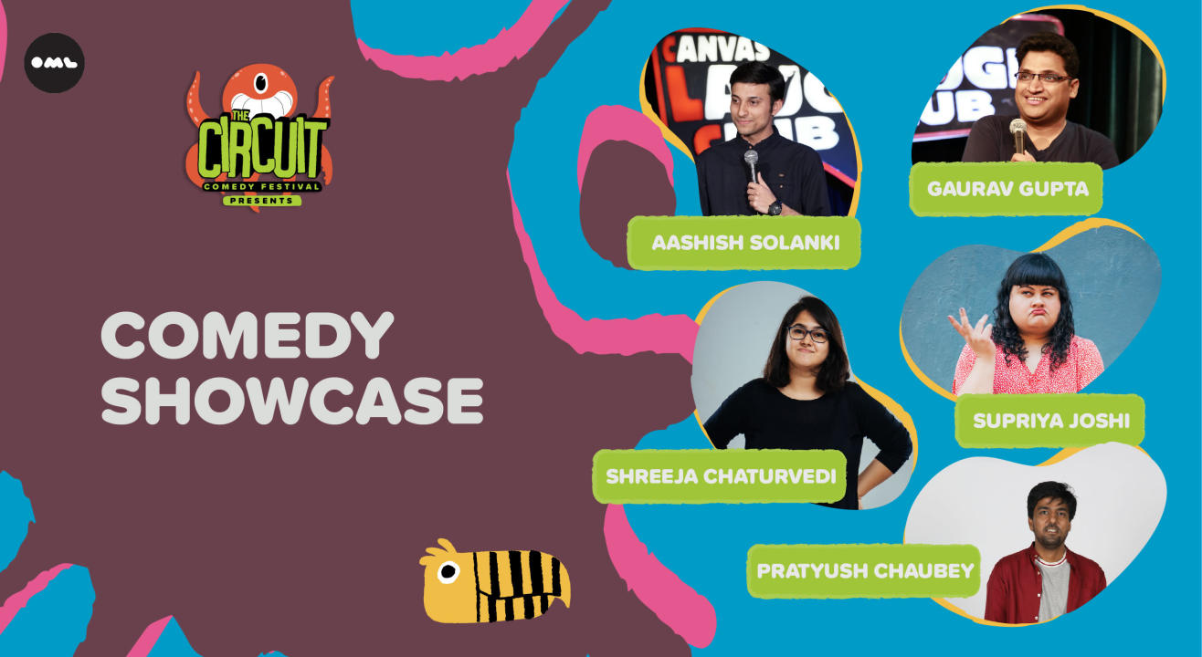 The Comedy Showcase ft. Pratyush, Supriya, Shreeja and more! | The Circuit Comedy Festival, Delhi