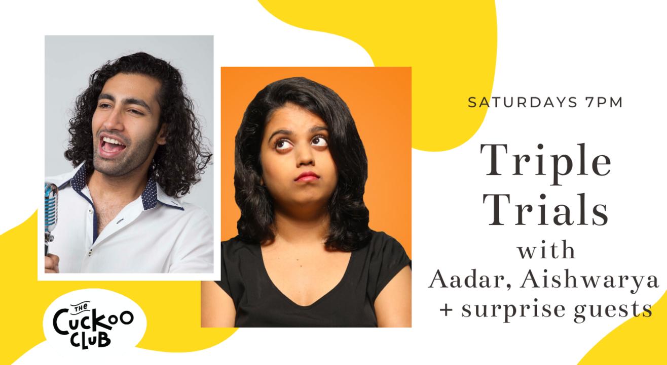 Triple Trials with Aadar, Aishwarya and surprise guests