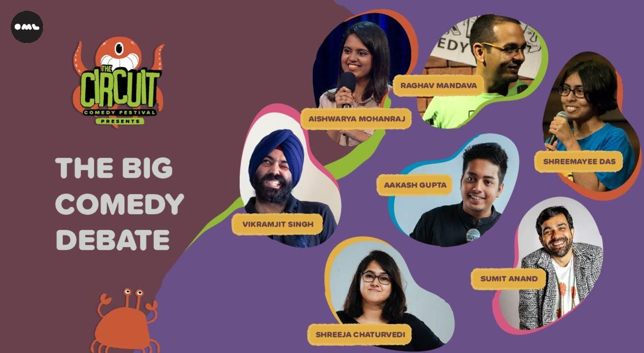 The Big Comedy Debate ft. Sumit, Aishwarya, Aakash and more! | The Circuit Comedy Festival, Delhi
