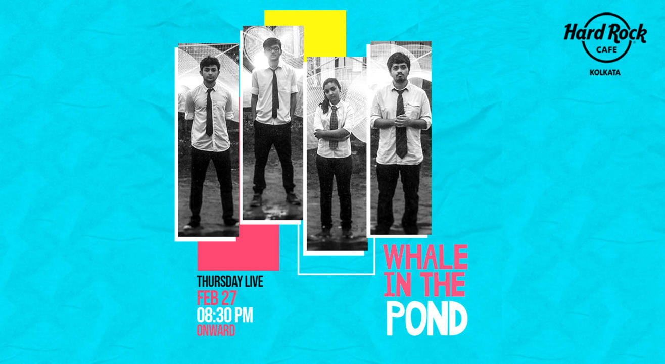 Thursday Live Ft Whale in the pond