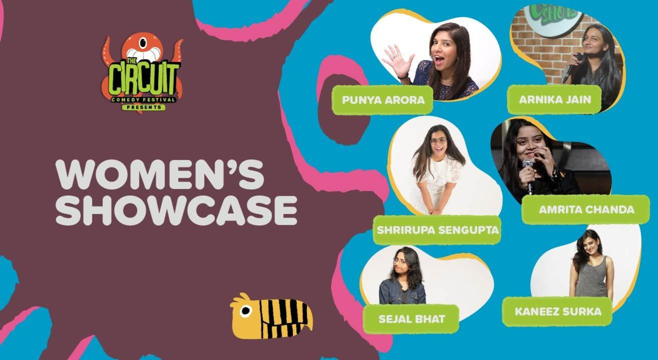 The Ladies Circuit ft. Kaneez, Sejal, Punya and more! | The Circuit Comedy Festival, Bengaluru