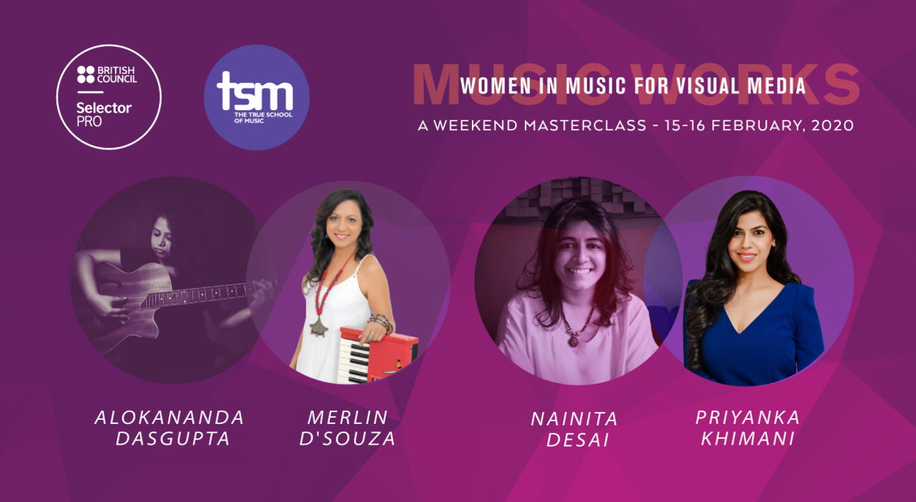 British Council's Selector PRO and The True School of Music present Music Works: Women in Music for Visual Media