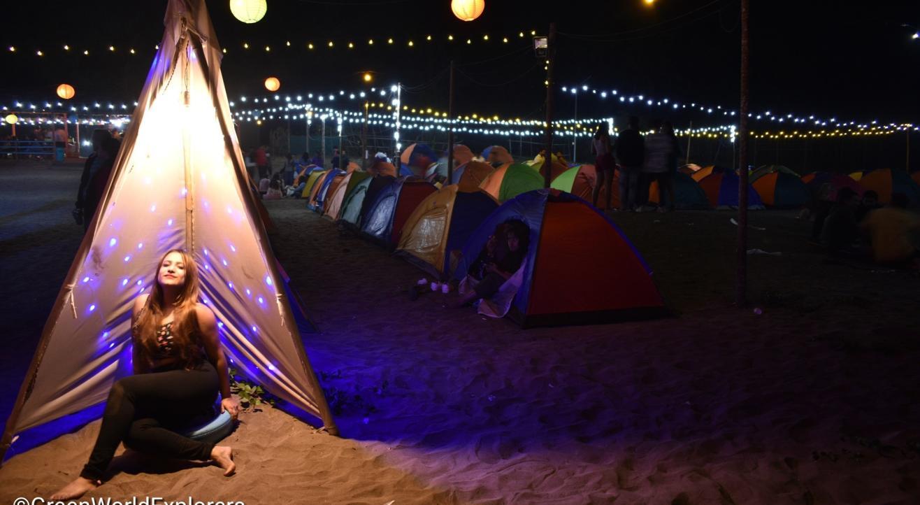 Beach Party...! Revdanda Camping...