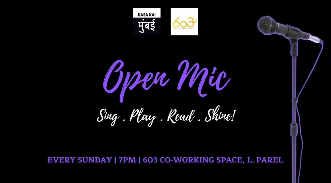 Open Mic At 603 The CoWorking Space, Lower Parel